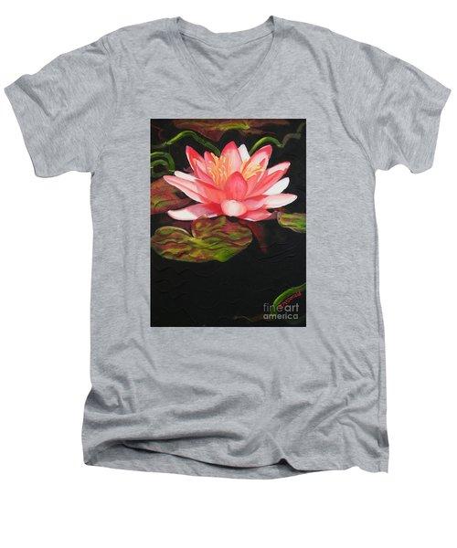 In Full Bloom Men's V-Neck T-Shirt