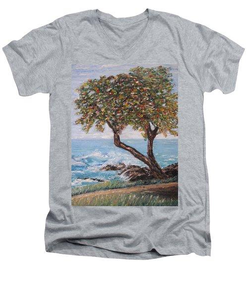 In Hawaii Men's V-Neck T-Shirt