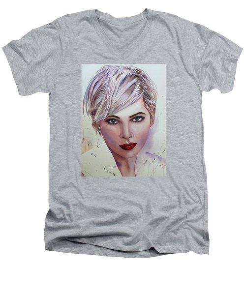In Her Eyes Men's V-Neck T-Shirt