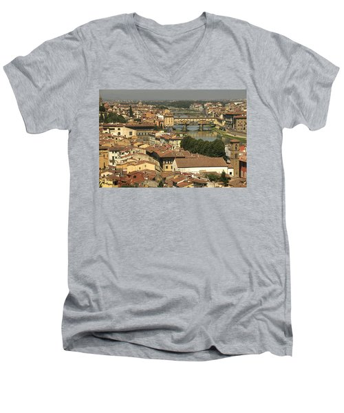In Love With Firenze - 1 Men's V-Neck T-Shirt