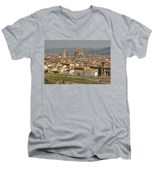 In Love With Firenze - 2 Men's V-Neck T-Shirt