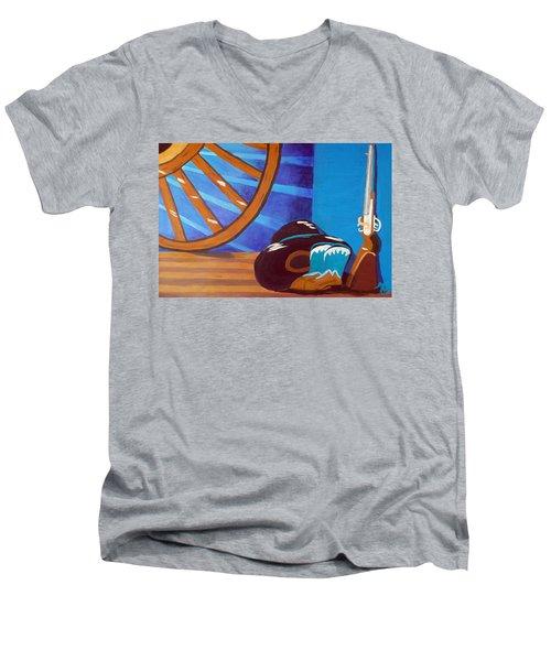In Memory Of Cowboys Men's V-Neck T-Shirt