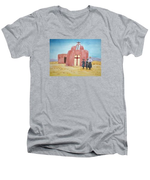 In Old New Mexico II Men's V-Neck T-Shirt