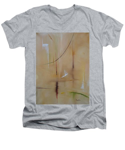 In Pursuit Of Youth Men's V-Neck T-Shirt by Judith Rhue