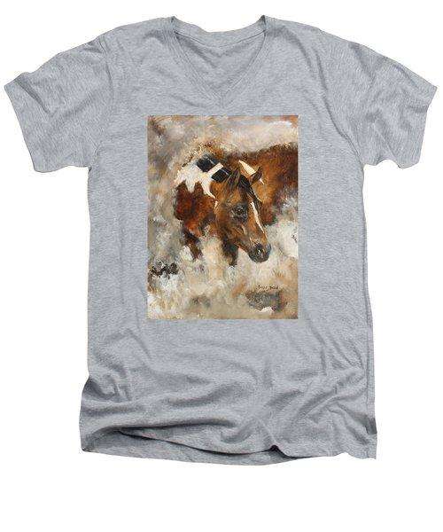 In Stores Only Men's V-Neck T-Shirt
