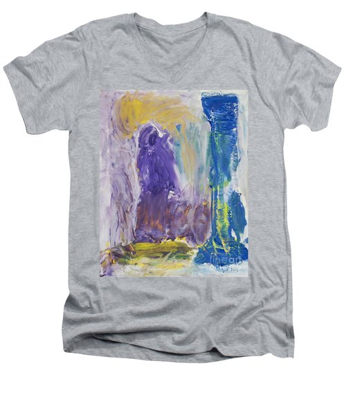 In The Catacombs Of Paris Men's V-Neck T-Shirt