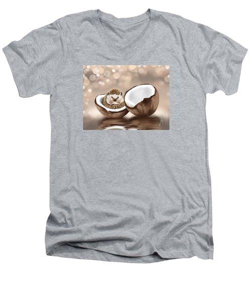 In The Coconut Men's V-Neck T-Shirt