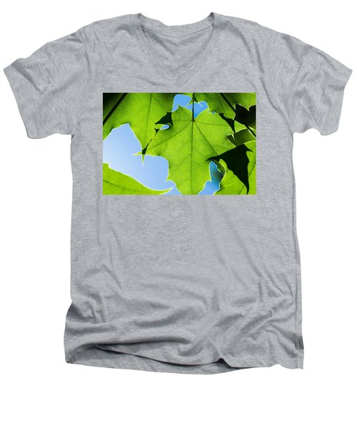 In The Cooling Shade - Featured 3 Men's V-Neck T-Shirt