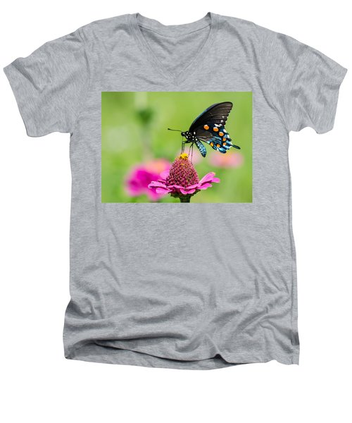 In The Garden Men's V-Neck T-Shirt