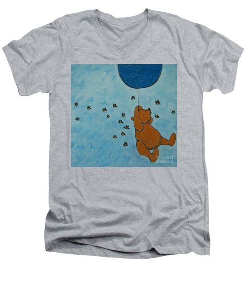 In The Pursuit Of Honey Men's V-Neck T-Shirt
