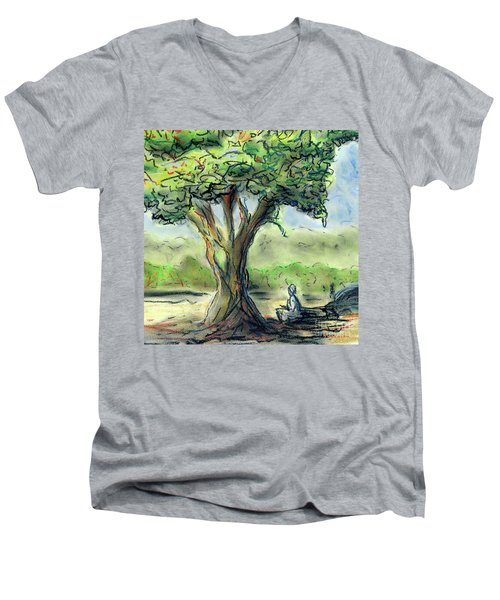 In The Shade Men's V-Neck T-Shirt