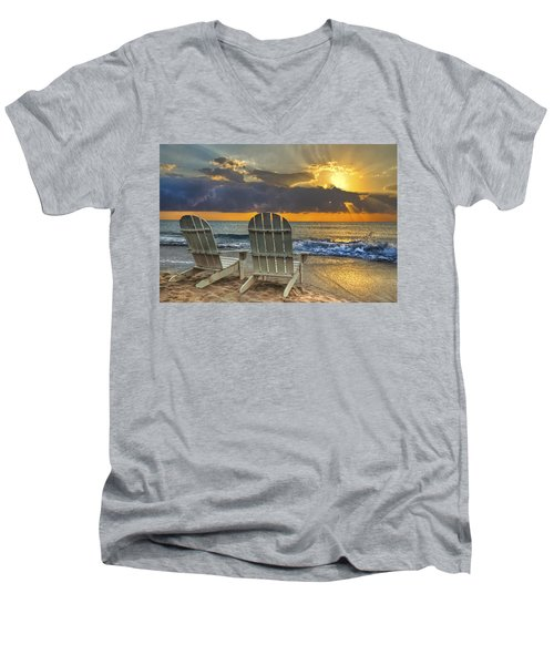 In The Spotlight Men's V-Neck T-Shirt