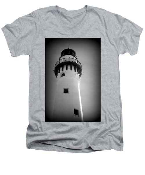 In The Village Of Wind Point Men's V-Neck T-Shirt