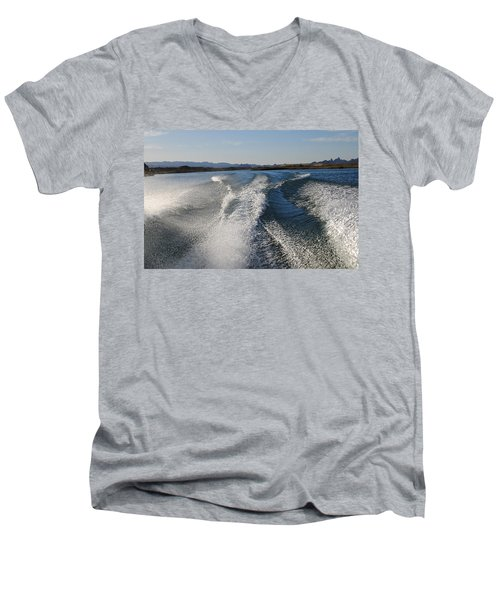In The Wake Of Lake Havasu Az  Men's V-Neck T-Shirt