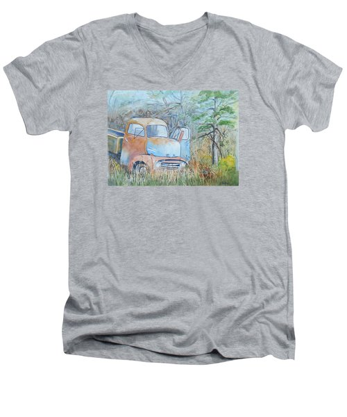 In The Weeds Men's V-Neck T-Shirt