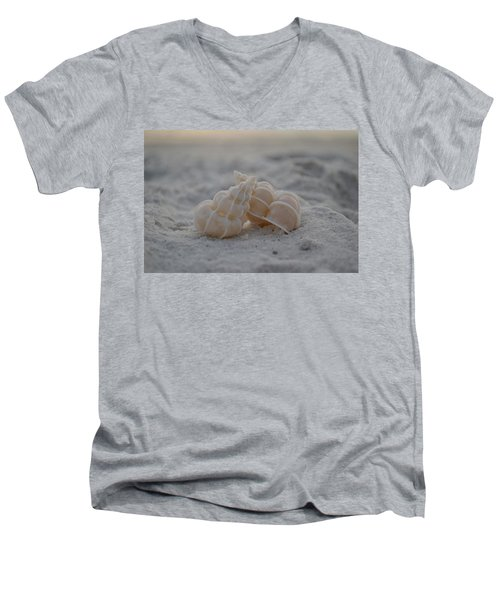 Men's V-Neck T-Shirt featuring the photograph In Your Light by Melanie Moraga