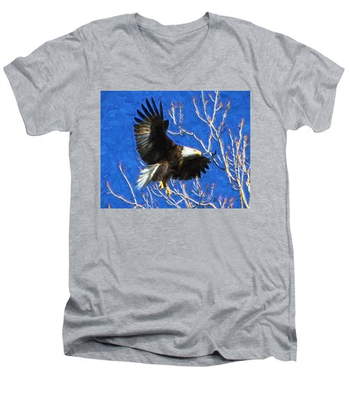 Inbound Eagle Men's V-Neck T-Shirt