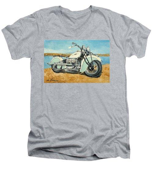 Indian Four 1941 Men's V-Neck T-Shirt