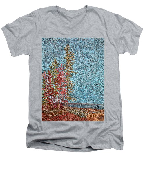 Indian Point - May 2014 Men's V-Neck T-Shirt