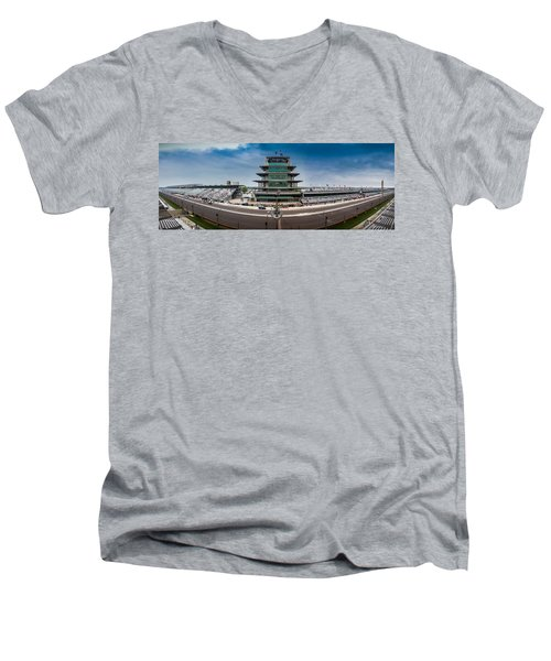 Indianapolis Motor Speedway Men's V-Neck T-Shirt