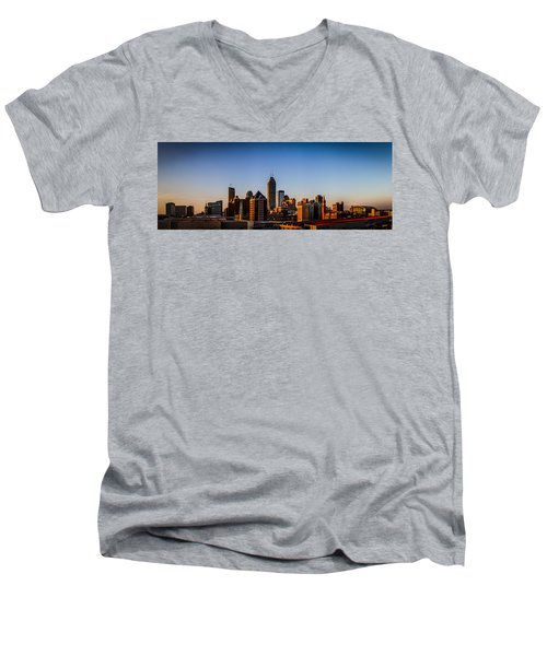 Indianapolis Skyline - South Men's V-Neck T-Shirt