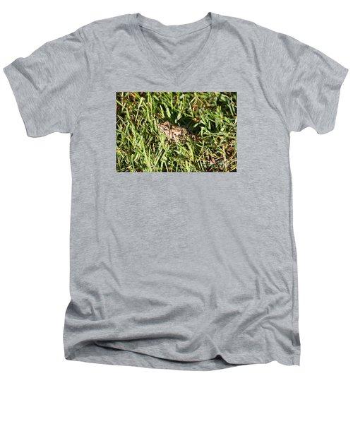 Infrognito Men's V-Neck T-Shirt