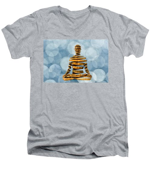 Inner Peace Men's V-Neck T-Shirt