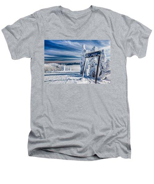 Inspiration Men's V-Neck T-Shirt by Aaron Aldrich