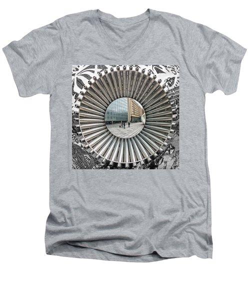 Institut Du Monde Arabe - Paris Men's V-Neck T-Shirt