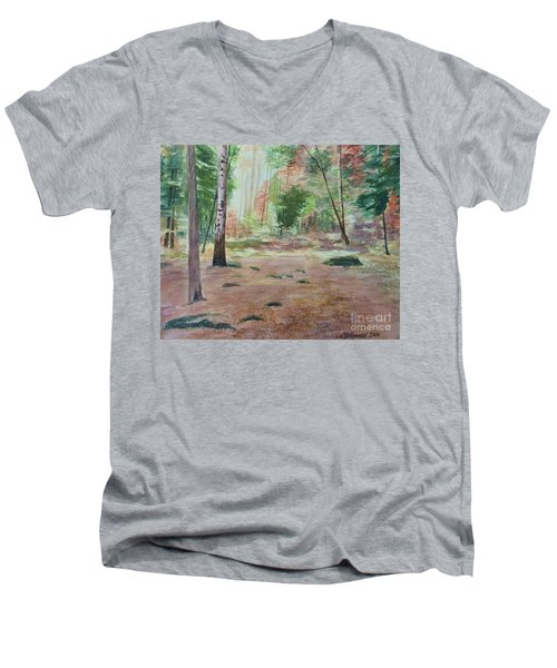 Into The Forest Men's V-Neck T-Shirt
