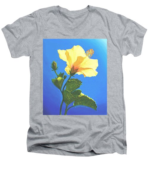Into The Light Men's V-Neck T-Shirt by Sophia Schmierer