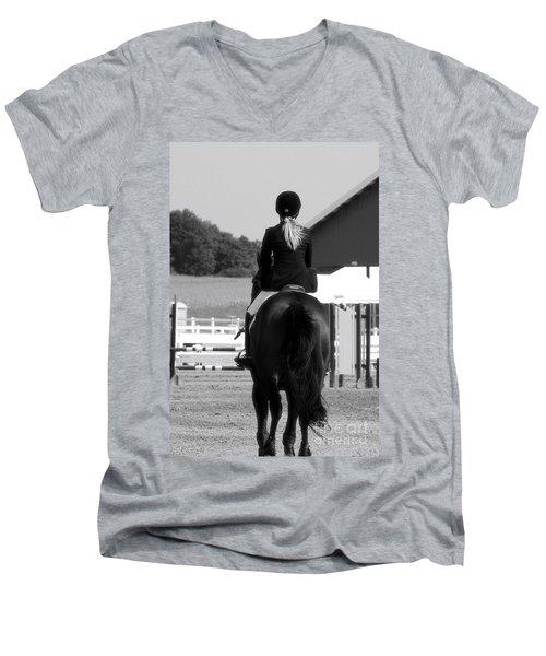 Into The Ring Men's V-Neck T-Shirt
