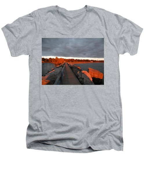 Into The Sun Men's V-Neck T-Shirt