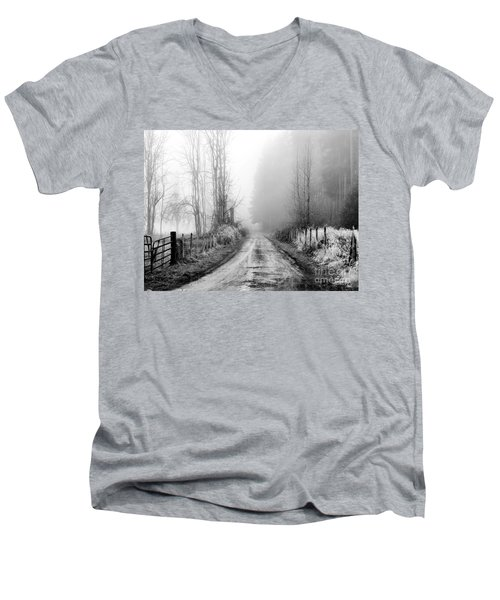 Into The Unknown Men's V-Neck T-Shirt