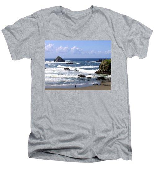 Invigorating Sea Air Men's V-Neck T-Shirt