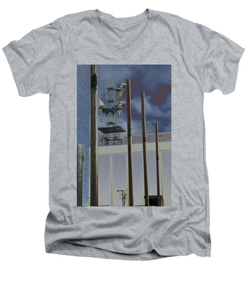Invisible Industry Men's V-Neck T-Shirt