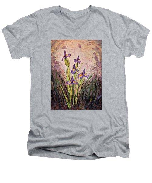 Iris Fantasy Men's V-Neck T-Shirt