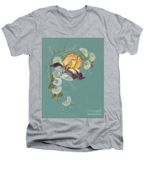 Iris Garland Men's V-Neck T-Shirt