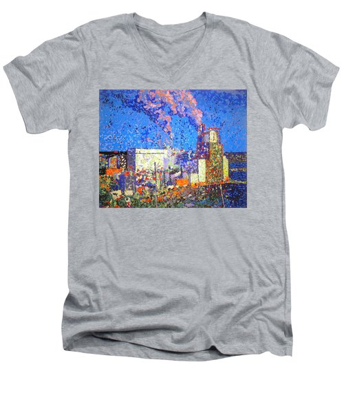 Irving Pulp Mill II Men's V-Neck T-Shirt