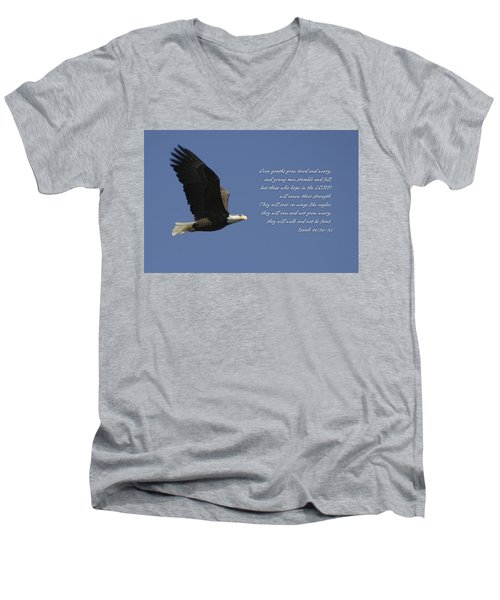 Isaiah 40 Men's V-Neck T-Shirt