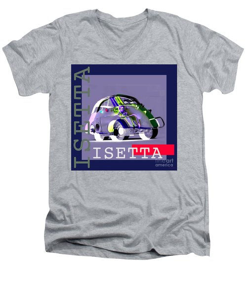 Isetta Men's V-Neck T-Shirt