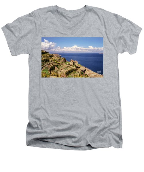 Isla Del Sol Men's V-Neck T-Shirt