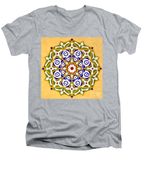 Islamic Art 09 Men's V-Neck T-Shirt