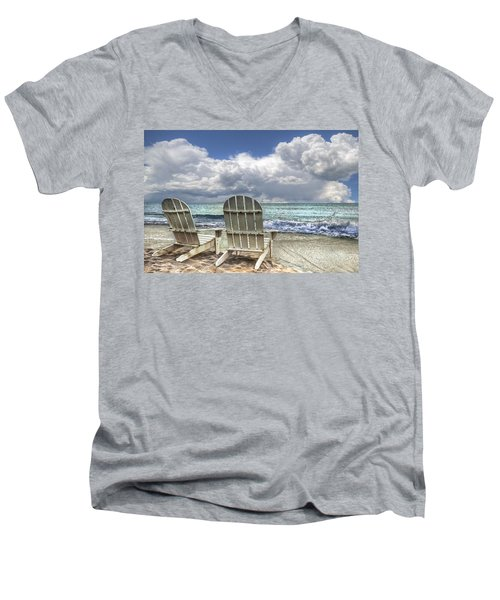 Island Attitude Men's V-Neck T-Shirt