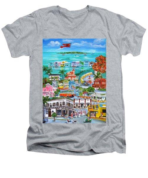 Island Daze Men's V-Neck T-Shirt
