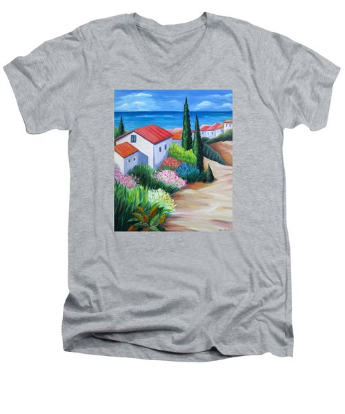Island Paradise Men's V-Neck T-Shirt