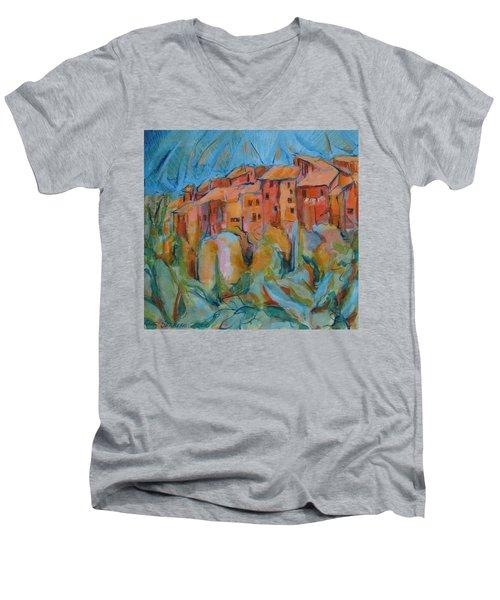 Isola Di Piante Small Italy Men's V-Neck T-Shirt