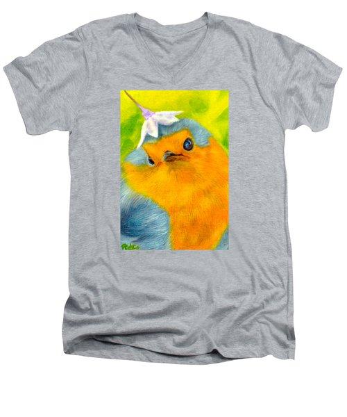 Tis Spring Men's V-Neck T-Shirt