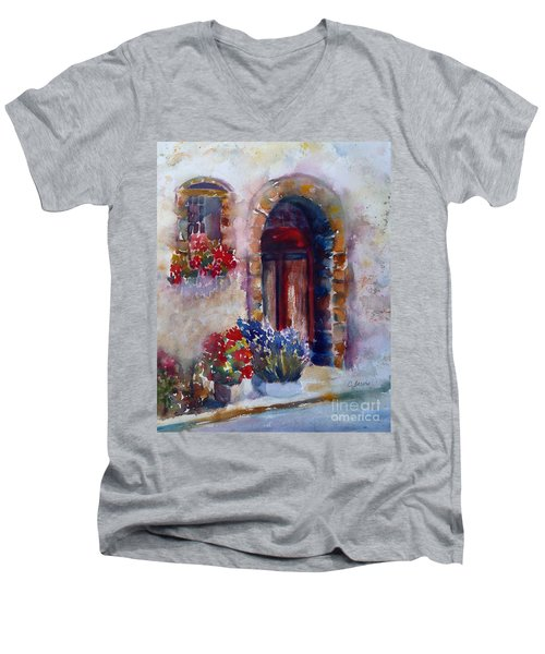 Italian Door Men's V-Neck T-Shirt