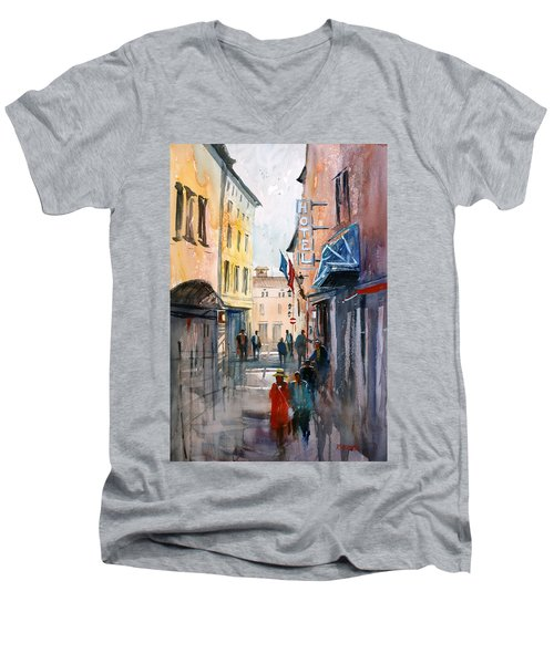 Italian Impressions 3 Men's V-Neck T-Shirt